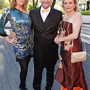 NLD/Hilversum/20100830 - Voetbalgala 2010, Kelly Pfaff, Jean-Marie Pfaff en partner Carmen