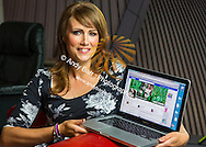 25:07:2013<br /> <br /> Studio shoot - Gorgeous Emma Dickson, 30 avoided social media because she thought she was too fat for facebook. The stunner, of Lockerbie, desperately wanted to join the online network, but hated the thought of old school pals seeing how big she'd become, ballooning to nearly 19st and a size 22. She'd instead snoop on hubby Mike's account to see what she was missing.<br /> Now after losing nearly 7st and slimming to a size 10 in just a year, she's finally opened her own FB page.<br /> <br /> Emma shows own FB profile<br /> <br /> <br />  Pic:Andy Barr<br /> 07974 923919  (mobile)<br /> andy_snap@mac.com<br /> All pictures copyright Andrew Barr Photography. <br /> Please contact before any syndication