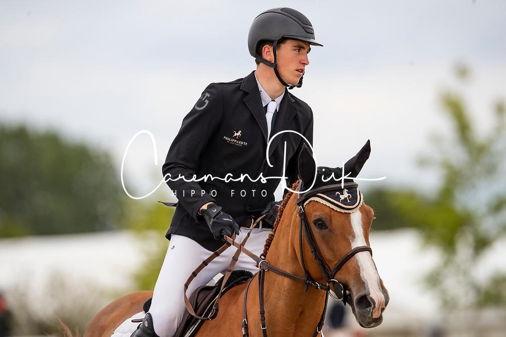 Philippaerts Anthony, BEL, All Right du Genet<br /> Belgisch kampioenschap Young Riders - Azelhof - Lier 2019<br /> © Hippo Foto - Dirk Caremans<br /> 30/05/2019