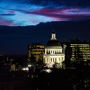 Sacramento, Iconic, Landscapes, California, Capital, State, River, Delta King, Bass, ESPN, Skyline, Park, Memorial, Golden1 Center, Sports, Event Center, Convention Center, Downtown 2016