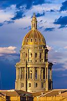 Colorado State Capitol Building, Downtown Denver, Colorado USA.