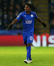Daniel Amartey of Leicester City  - Mandatory by-line: Matt McNulty/JMP - 22/11/2016 - FOOTBALL - King Power Stadium - Leicester, England - Leicester City v Club Brugge - UEFA Champions League
