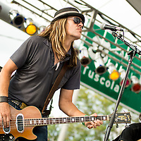 Blind Melon performs at Decatur Celebration, Decatur, Illinois, August 4, 2013. Photo: George Strohl