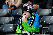Fulham fan during The FA Cup 3rd round match between Fulham and Oldham Athletic at Craven Cottage, London, England on 6 January 2019.