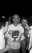 Guys Dancing at a Rave, High Wycombe, UK, 1980s.