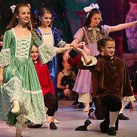 Libby Ezell | BUY AT PHOTOS.DJOURNAL.COM<br /> The Party Girls and Party Boys in the Nutcracker dance one of the opening dances at Saturday's Matinee performance