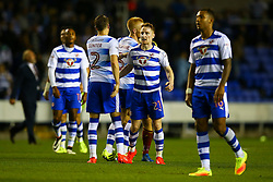 Reading celebrate their injury time win over Ipswich Town - Mandatory by-line: Jason Brown/JMP - 09/09/2016 - FOOTBALL - Madejski Stadium - Reading, England - Reading v Ipswich Town - Sky Bet Championship