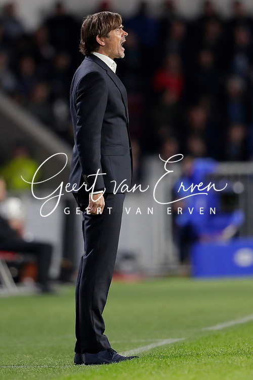 Trainer/Coach Phillip Cocu of PSV