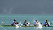 Aiguebelette, FRANCE. FRA M4-, approaching the line. 09:45:52  Saturday  21/06/2014. [Mandatory Credit; Peter Spurrier/Intersport-images]