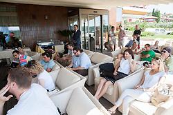 Press conference of ATP Challenger Tilia Slovenia Open 2013, on June 20, 2013 in Hotel Metropol, Portoroz, Slovenia. (Photo By Vid Ponikvar / Sportida)