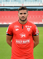 Mehdi ABEID during photoshooting of Dijon FCO for new season 2017/2018 on September 11, 2017 in Dijon, France. (Photo by Vincent Poyer/Icon Sport)