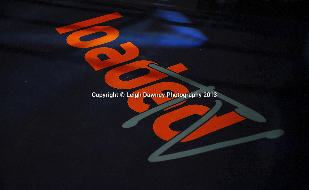 Canvas with sponsor logo's at Rainton Meadows Arena, Houghton Le Spring, Tyne & Wear, UK. 15th February 2013. Frank Maloney Promotions. © Leigh Dawney 2013