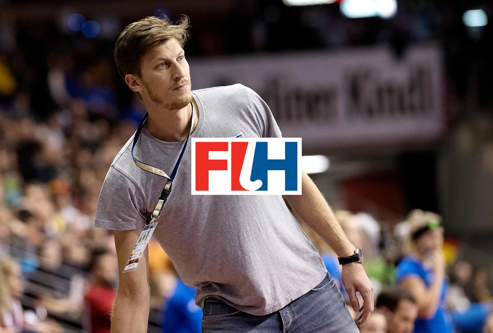 BERLIN - Indoor Hockey World Cup<br /> Quarterfinal 4: Netherlands - Czech Republic<br /> foto: Filip Neusser.<br /> WORLDSPORTPICS COPYRIGHT FRANK UIJLENBROEK