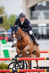 KLEIS Thomas (GER), Ugaulin du Bosquetiau<br /> Hagen - Horses and Dreams meets the Royal Kingdom of Jordan 2018<br /> Finale Mittlere Tour<br /> 29. April 2018<br /> www.sportfotos-lafrentz.de/Stefan Lafrentz