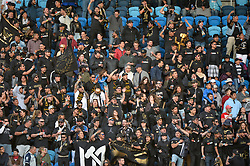 June 9, 2018 - San Jose, California, United States - San Jose, CA - Saturday June 09, 2018: Los Angeles Football Club fans during a Major League Soccer (MLS) match between the San Jose Earthquakes and Los Angeles Football Club at Avaya Stadium. (Credit Image: © John Todd/ISIPhotos via ZUMA Wire)