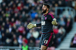 Boaz Myhill of West Bromwich Albion shouts at his defence - Mandatory by-line: Jason Brown/JMP - 07966386802 - 16/01/2016 - FOOTBALL - Southampton, St Mary's Stadium - Southampton v West Bromwich Albion - Barclays Premier League