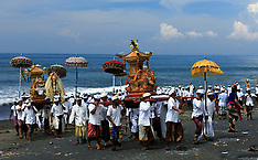 Bali Melasti Ceremony