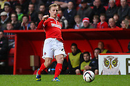 Chris Solly of Charlton Athletic during the Sky Bet Championship match at The Valley, London<br /> Picture by David Horn/Focus Images Ltd +44 7545 970036<br /> 15/04/2014