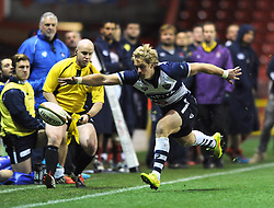 Bristol Rugby's replacement winger, Charlie Amesbury - Photo mandatory by-line: Dougie Allward/JMP - Mobile: 07966 386802 - 05/12/2014 - SPORT - Rugby - Bristol - Ashton Gate - Bristol Rugby v London Scottish - B&I Cup