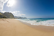 Keawaula Beach, Yokohama Bay, Leeward Oahu, hawaii