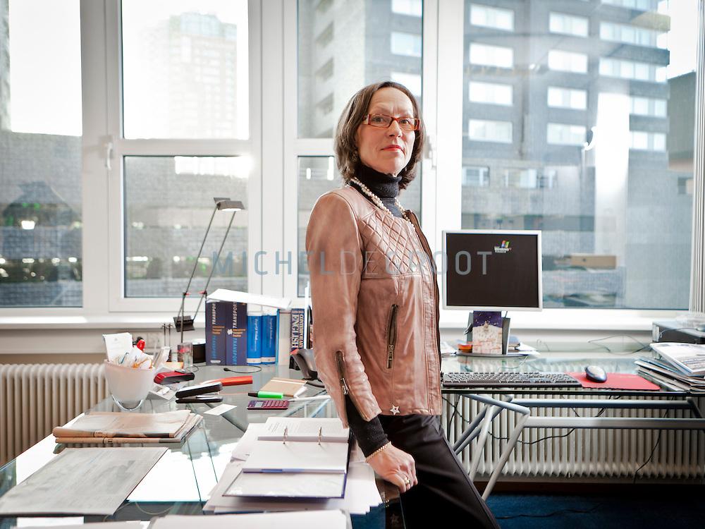 Theresia Hacksteiner directeur van de EBU in Rotterdam