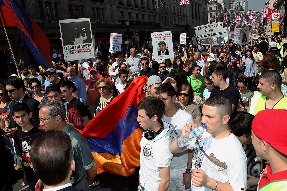 96th Anniversary of the Armenian Genocide London, UK, 23/04/2011
