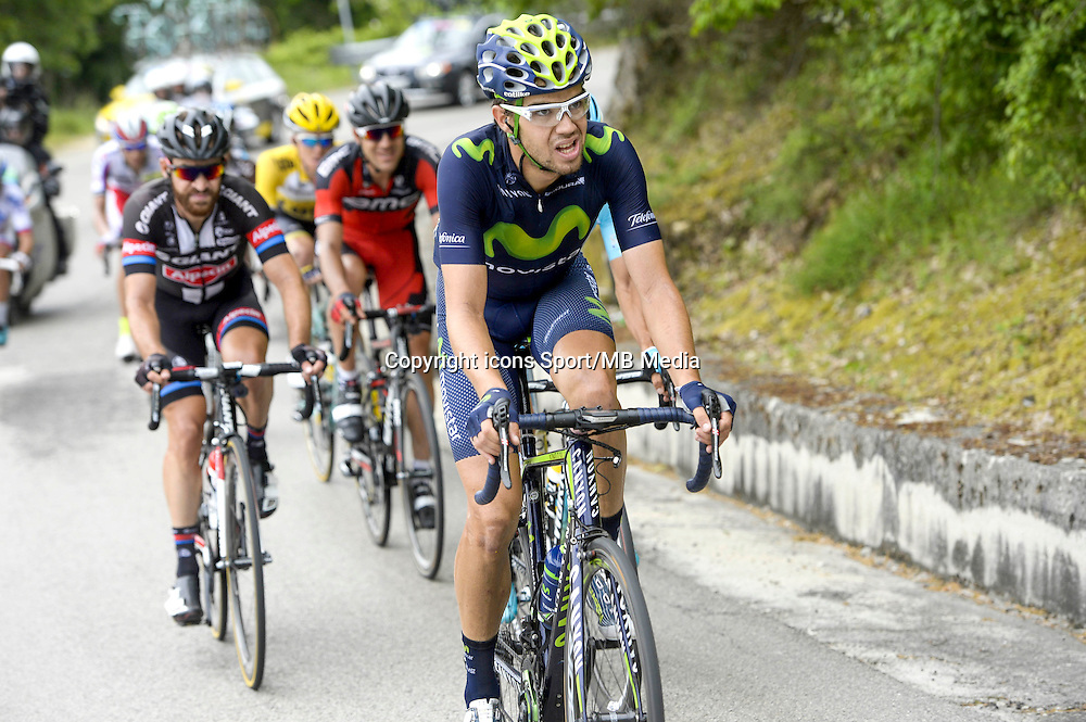 Jesus Herrada Lopez - Movistar - 17.05.2015 - Tour d'Italie - Etape 09 : Benevento - San Giorgio del Sannio<br />Photo : Sirotti / Icon Sport