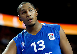 Boris Diaw of France during final basketball game between National basketball teams of Spain and France at FIBA Europe Eurobasket Lithuania 2011, on September 18, 2011, in Arena Zalgirio, Kaunas, Lithuania. (Photo by Vid Ponikvar / Sportida)