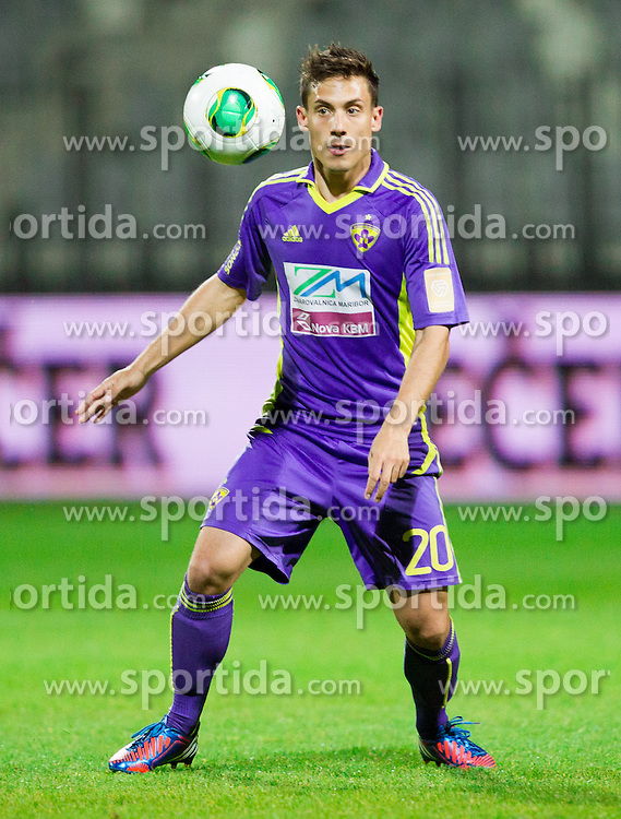 Goran Cvijanovic #20 of Maribor during football match between NK Maribor and NK Celje in final of Slovenian Cup 2013 on May 29, 2013 in Stadium Bonifika, Koper, Slovenia. Maribor defeated Celje 1-0 and became Slovenian Cup Champion 2013. (Photo By Vid Ponikvar / Sportida)
