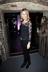 SUSANNA WARREN at the launch party for the new nightclub Public at 533 Kings Road, London on 2nd December 2010.