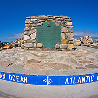 Alberto Carrera, Official Southernmost Tip of Africa, Official Dividing Line Atlantic and Indian Oceans, Cape Agulhas, Agulhas National Park, Western Cape, South Africa, Africa