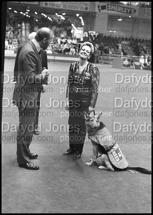PRINCE MICHAEL OF KENT, Crufts, Olympia. London. 1987.