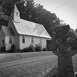 The south has no shortage of churches but old wooden ones like this one are becoming harder to find.