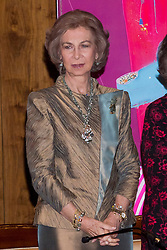 National Auditorium of Music. Madrid. Spain. In the picture: Queen Sofia of Spain, November 6, 2012. Photo by Ivan G. Naughty / DyD Fotografos / i-Images...SPAIN OUT