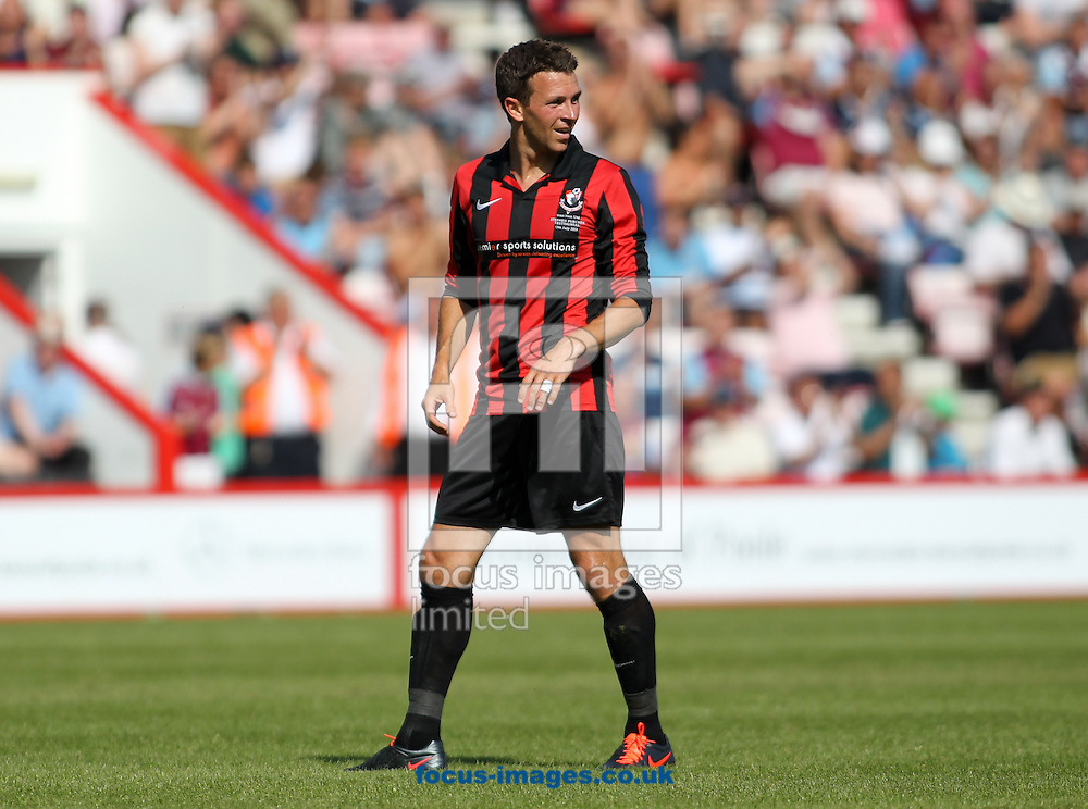 Picture by Tom Smith/Focus Images Ltd 07545141164<br /> 13/07/2013 Stephen Purches of Bournemouth during the Stephen Purches testimonial pre season friendly match at the Seward Stadium, Bournemouth.