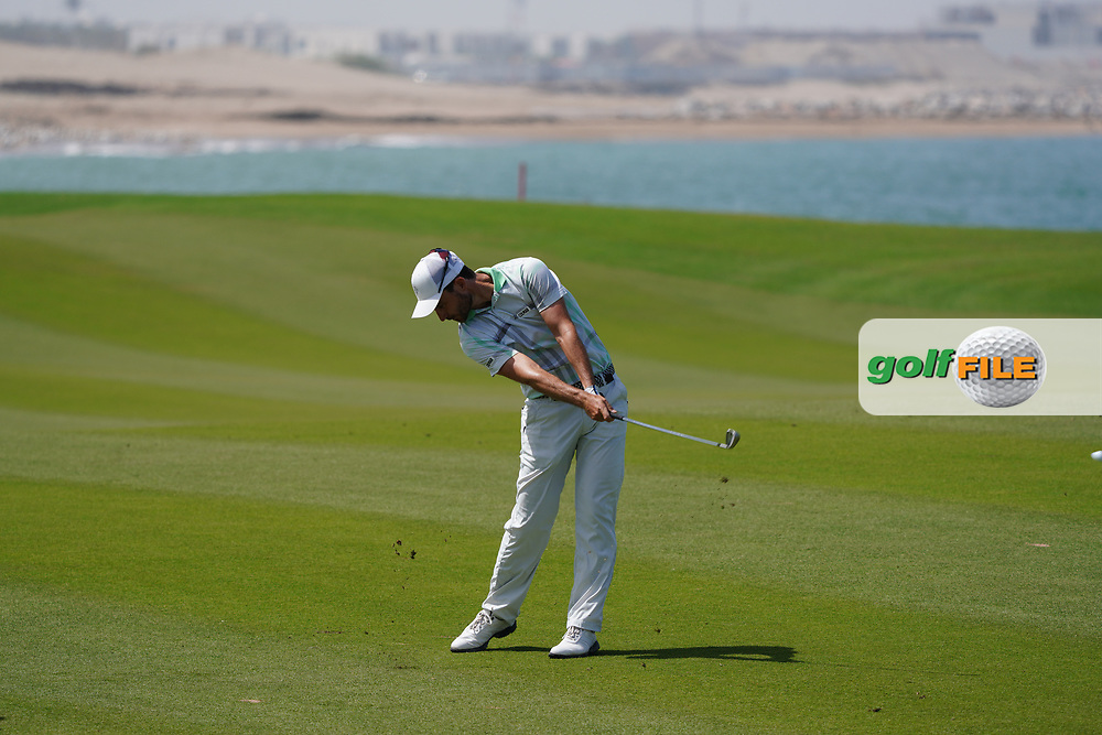 Alejandro Canizares (ESP) on the 9th during Round 3 of the Oman Open 2020 at the Al Mouj Golf Club, Muscat, Oman . 29/02/2020<br /> Picture: Golffile | Thos Caffrey<br /> <br /> <br /> All photo usage must carry mandatory copyright credit (© Golffile | Thos Caffrey)