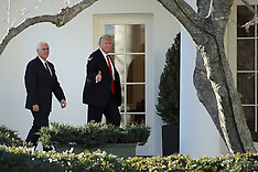 Washington DC: President Trump Visits Department of Homeland Security- 25 Jan 2017