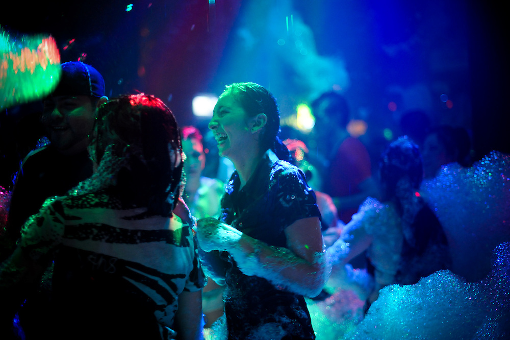Bermuda Triangle club annual Foam Party, Saturday, July 10, 2010 in San Antonio, TX..Photo/Bahram Mark Sobhani
