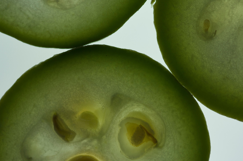 Close up of melons
