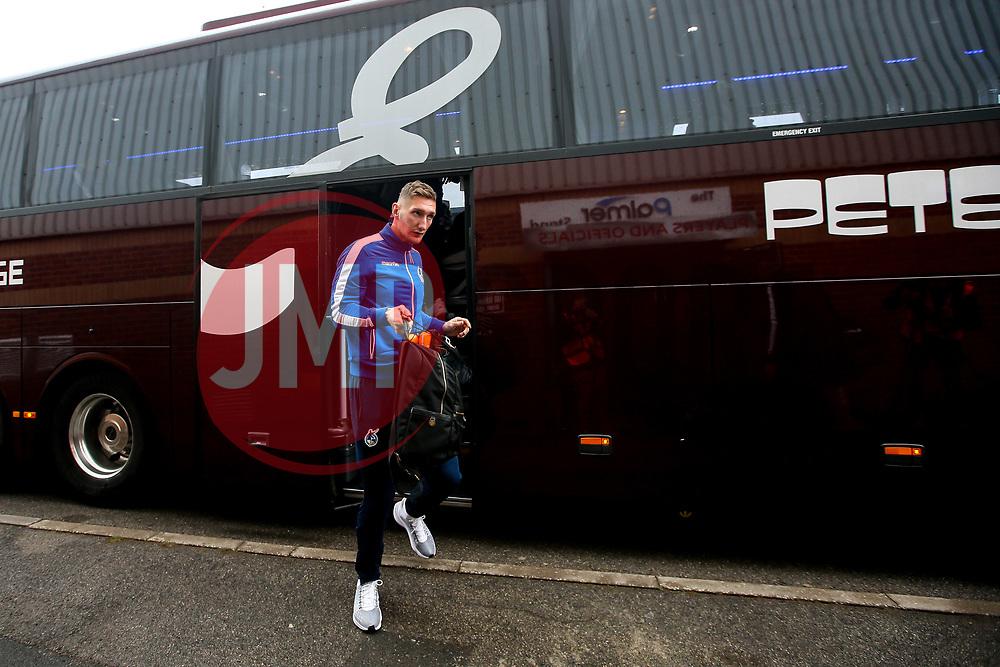 Jack Bonham of Bristol Rovers arrives at Barnsley - Mandatory by-line: Robbie Stephenson/JMP - 27/10/2018 - FOOTBALL - Oakwell Stadium - Barnsley, England - Barnsley v Bristol Rovers - Sky Bet League One