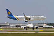 Ukraine International Airlines Boeing 737 Next Gen, at Milan - Malpensa (MXP / LIMC) Italy