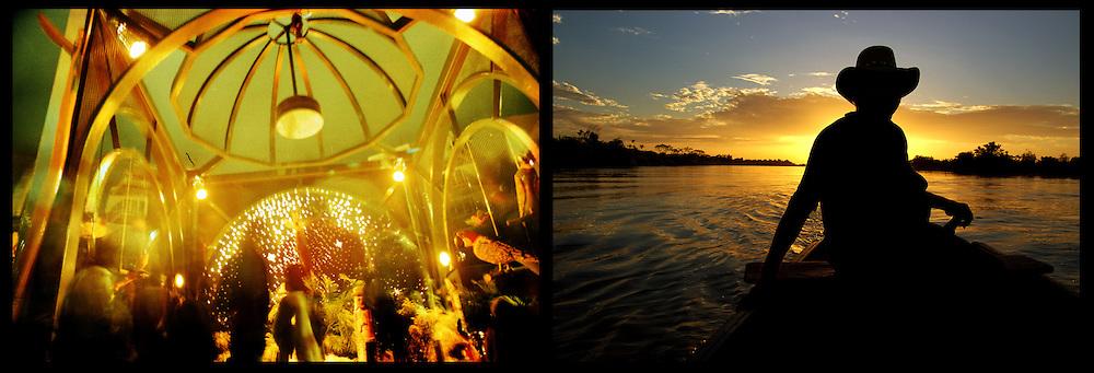 DAILY VENEZUELA II / VENEZUELA COTIDIANA II<br /> Photography by Aaron Sosa <br /> <br /> Left: Altamira, Caracas - Venezuela 2002<br /> <br /> Right: Sarare River, Apure State - Venezuela 2007 / Rio Sarare, Estado Apure - Venezuela 2007<br /> <br /> (Copyright © Aaron Sosa)