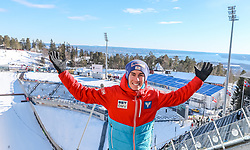 10.03.2017, Holmenkollen, Oslo, NOR, FIS Weltcup Ski Sprung, Raw Air, Oslo, im Bild Stefan Kraft (AUT) // Stefan Kraft of Austria // during the 1st Stage of the Raw Air Series of FIS Ski Jumping World Cup at the Holmenkollen in Oslo, Norway on 2017/03/10. EXPA Pictures © 2017, PhotoCredit: EXPA/ Tadeusz Mieczynski