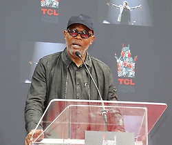 Samuel L. Jackson at Lionel Richie Hand And Footprint Ceremony held at the TCL Chinese Theatre in Hollywood, USA on March 7, 2018.