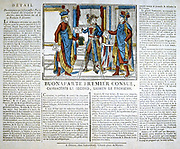 The Three Consuls. Napoleon as lst Consul, with Cambaceres and Le Brun