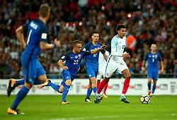 Dele Alli of England runs with the ball - Mandatory by-line: Robbie Stephenson/JMP - 04/09/2017 - FOOTBALL - Wembley Stadium - London, United Kingdom - England v Slovakia - 2018 FIFA World Cup Qualifier