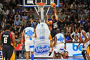 DESCRIZIONE : Supercoppa 2014 Semifinale Dinamo Banco di Sardegna Sassari - Virtus Acea Roma<br /> GIOCATORE : Jordan Morgan<br /> CATEGORIA : Tiro Penetrazione Controcampo<br /> SQUADRA : Virtus Acea Roma<br /> EVENTO : Supercoppa 2014<br /> GARA : Dinamo Banco di Sardegna Sassari - Virtus Acea Roma<br /> DATA : 04/10/2014<br /> SPORT : Pallacanestro <br /> AUTORE : Agenzia Ciamillo-Castoria / Luigi Canu<br /> Galleria : Supercoppa 2014<br /> Fotonotizia : Supercoppa 2014 Semifinale Dinamo Banco di Sardegna Sassari - Virtus Acea Roma