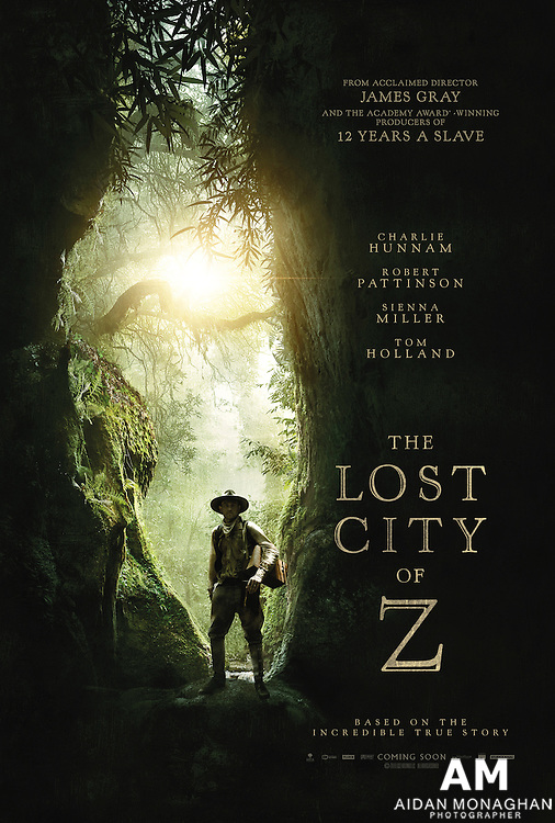 Charlie Hunnam Stars In Our Exclusive Poster For The Lost City Of Z<br />