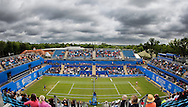 A general view of the Ann Jones, Centre Court on Day Eight of the Aegon Classic at Edgbaston Priory Club, Birmingham, UK<br /> Picture by Mike Griffiths/Focus Images Ltd +44 7766 223933<br /> 18/06/2016