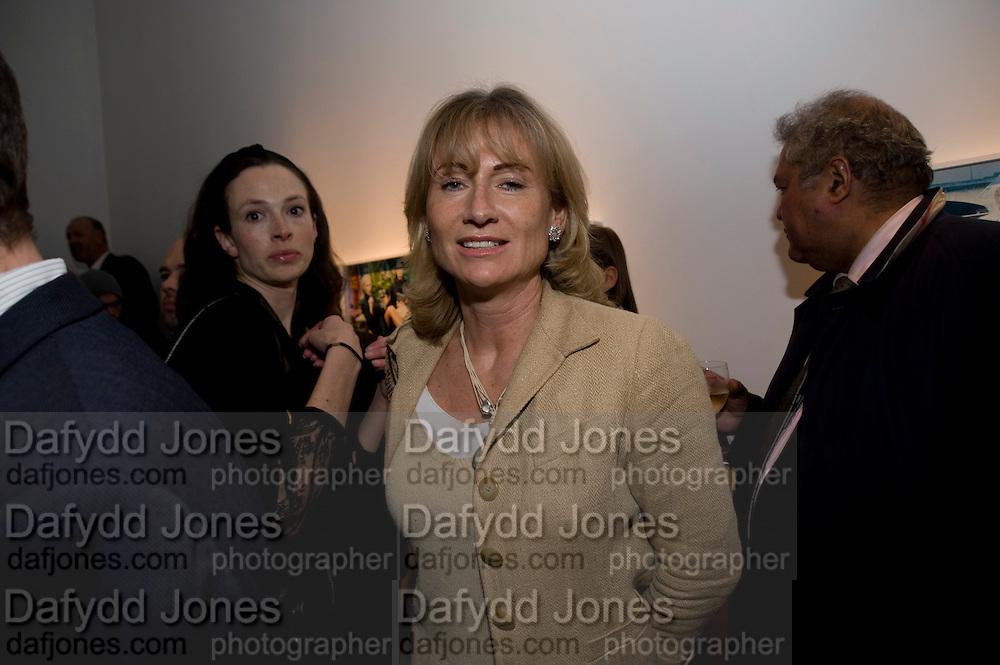 ALISON MYNERS, Miles Aldridge exhibition. Hamiltons. Carlos Place, London.  31 March 2009